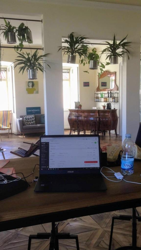 digital nomad remote work Italy Triest
