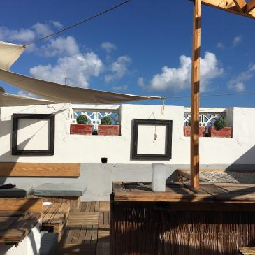 why i love hostel Gran Canaria rooftop bar things to know about staying in hostels