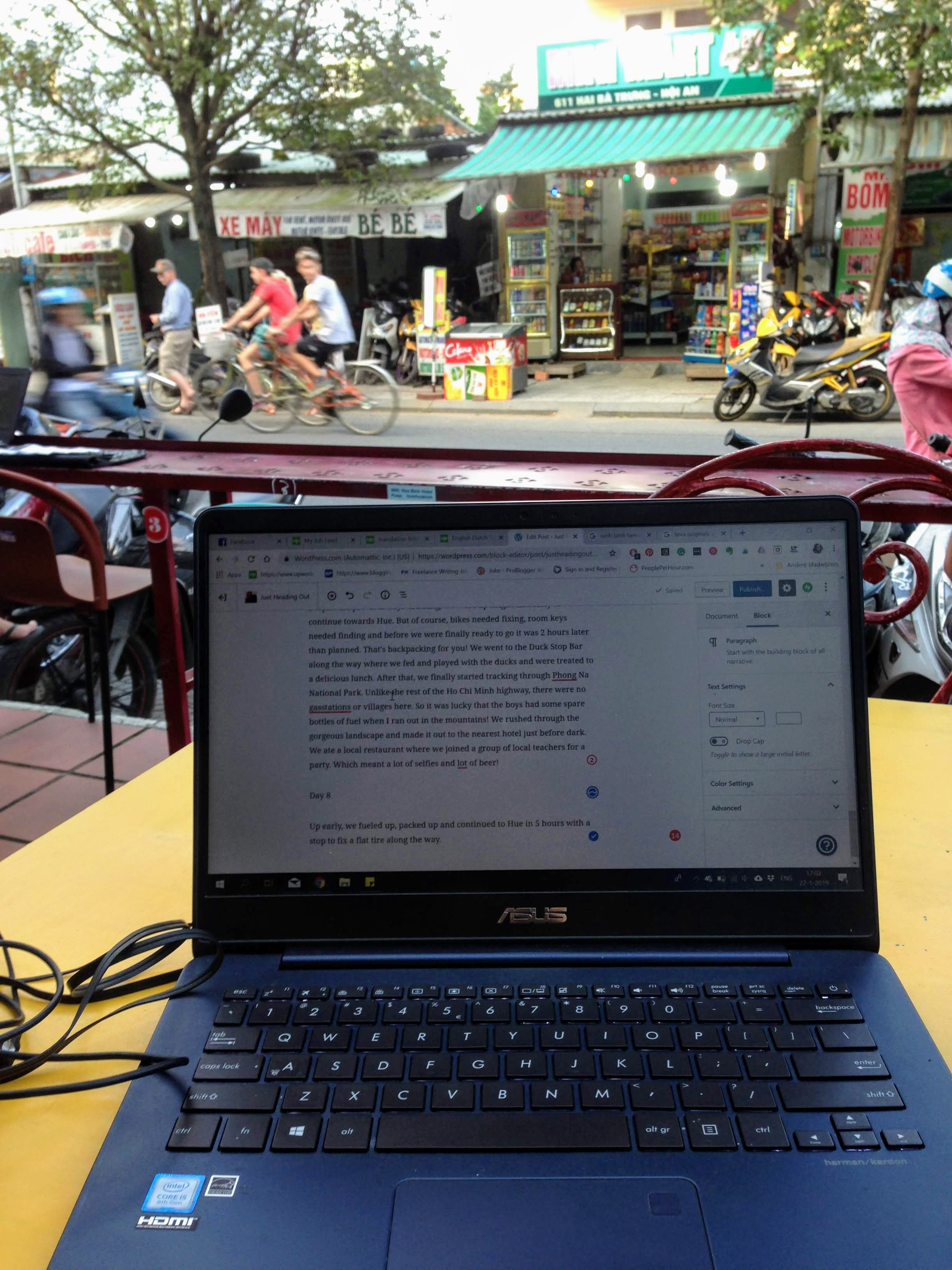 digital nomad remote work Vietnam Hoi An