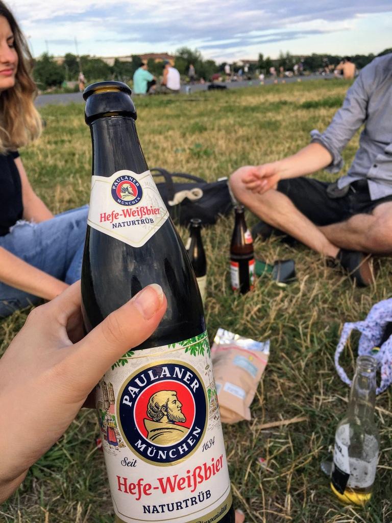 Berlin Tempelhof beer summer