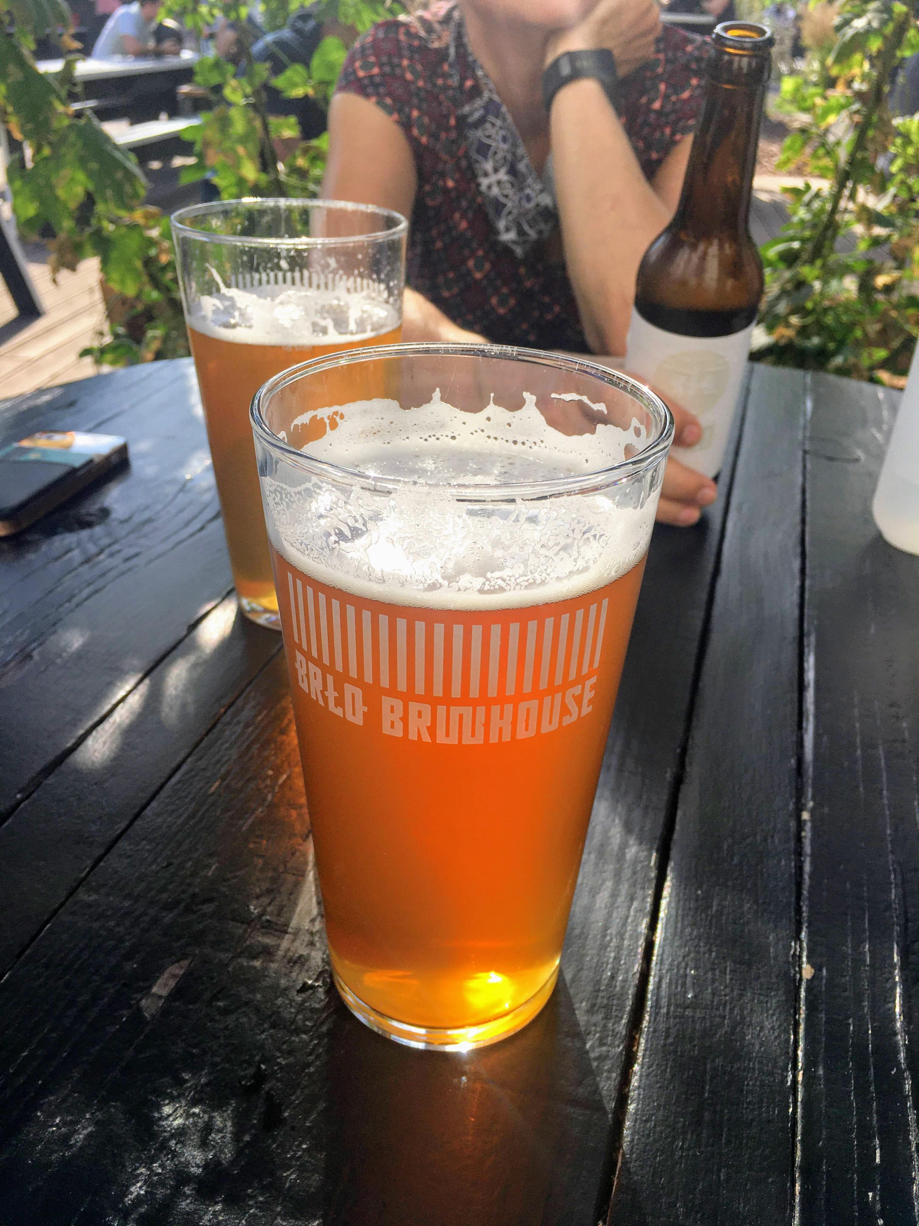 Berlin BRLO beergarden biergarten craft beer oale ale