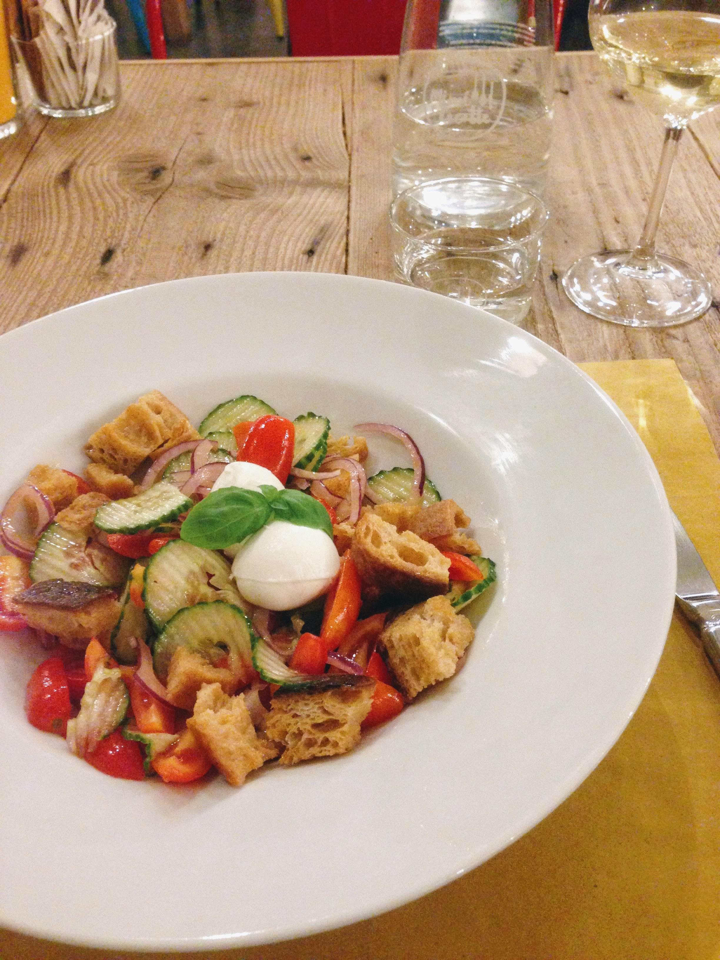 Panzanella salad Italian food Tuscany food guide