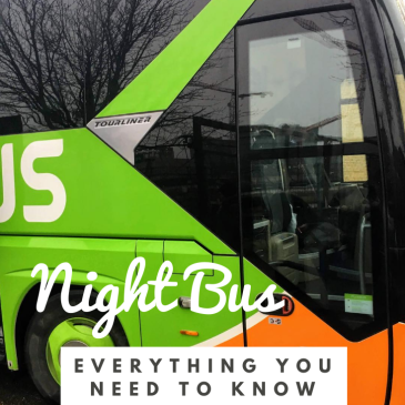 night bus survival guide things to know about long distance bus travel flixbus