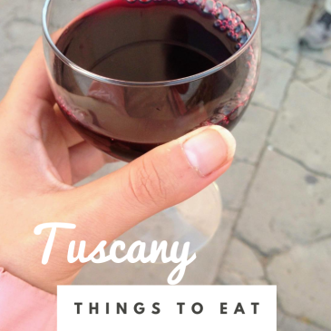 tuscan food guide things to eat in Tuscany traditional Italian cuisine wine
