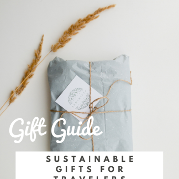 sustainabel travel gift guide