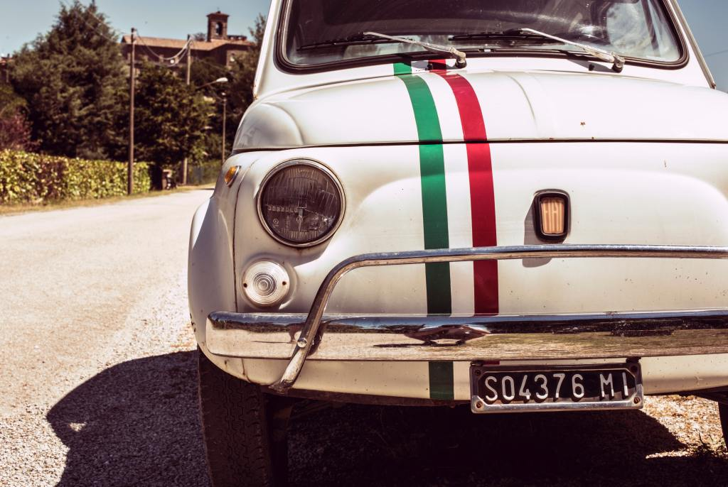 Fiat 500 Italy road trip travel bucket list