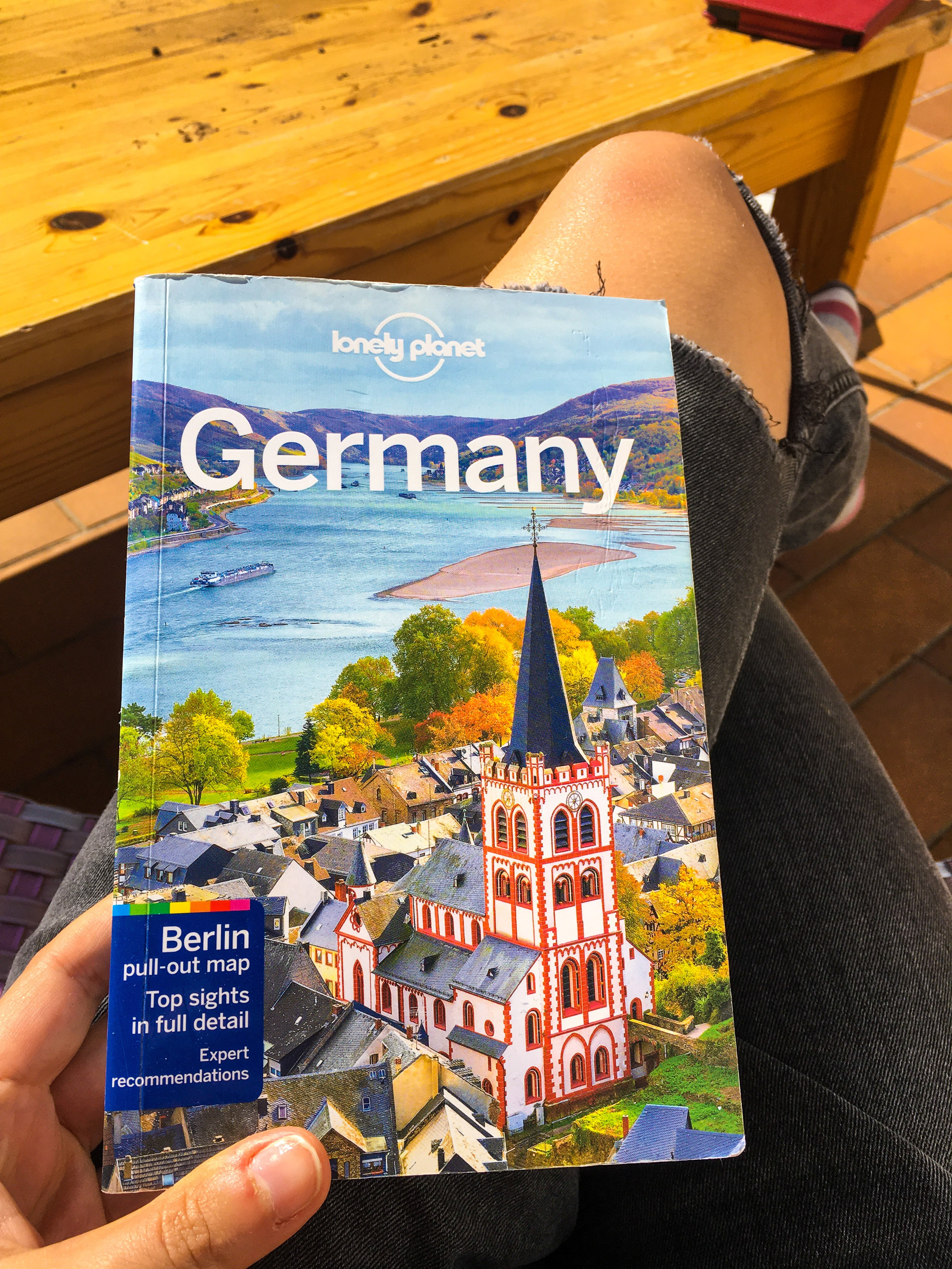 Guide book lonely planet germany unique travel