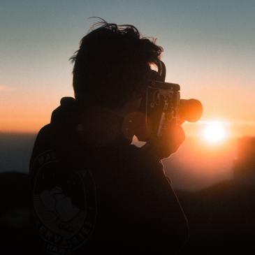 sunset man camera nature documentary netflix