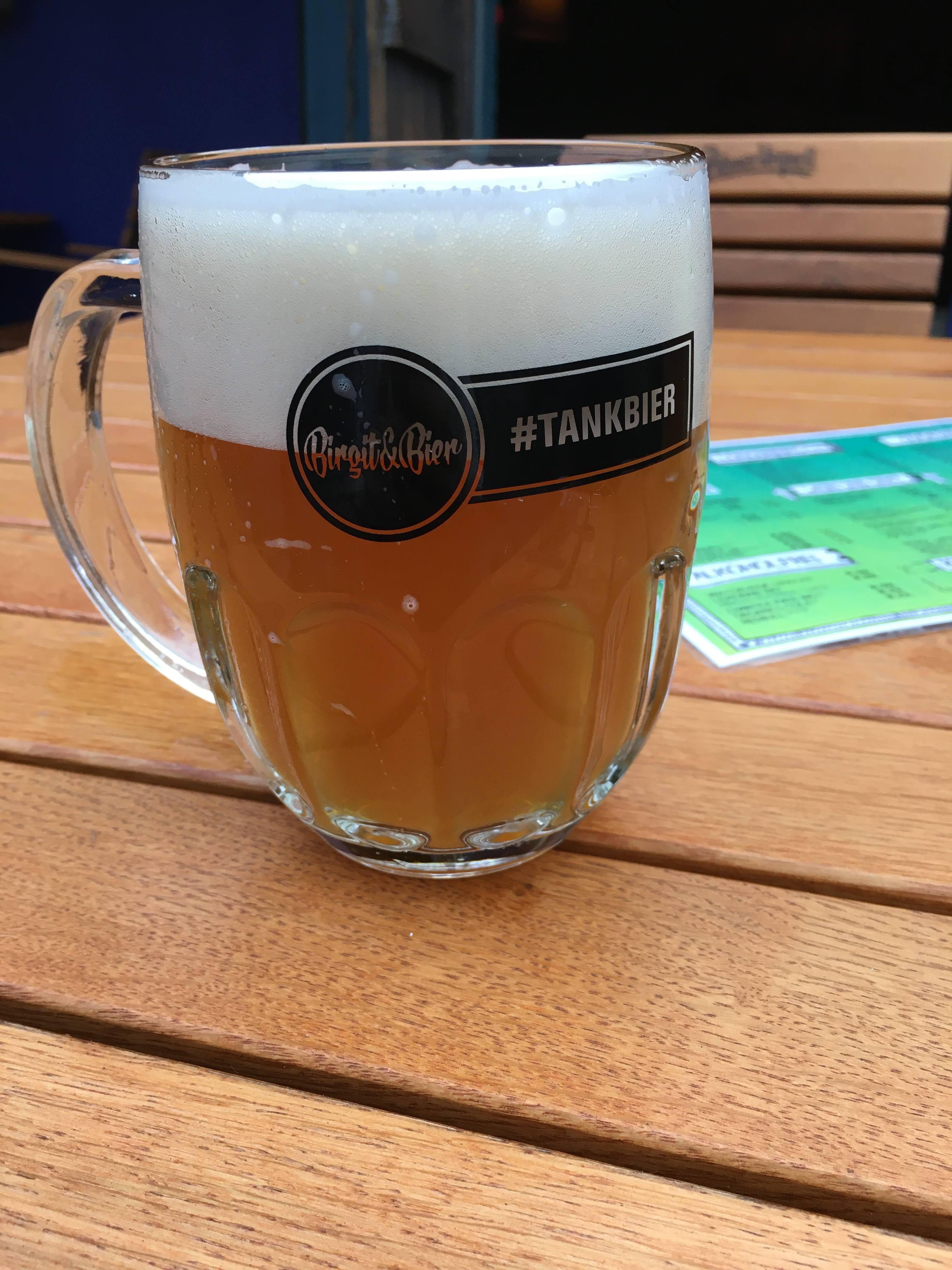 Birgit & Bier Berlin beer garden tankbier